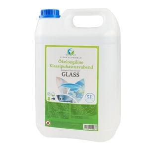 Klaasipuhastusvahend GLASS 5l - Looduslikud puhastusvahendid